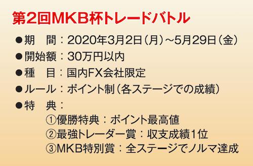 第二回MKB杯トレードバトル