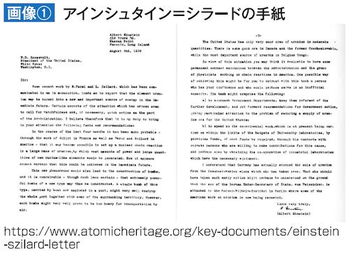 アインシュタイン=シラードの手紙