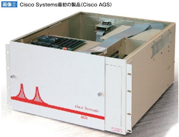 Cisco Systems最初の製品(Cisco AGS)